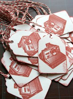 clever gift tags by TheOrangeSparrow