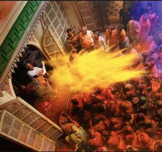 "Holi at a Shreenathji Haveli. Whenever my foreign friends asked me"" How is India ? "" This brings an awkward pause. It awakes my patriotic feelings to tell him/her hear for an hour about India. But I reply with a smile..."" India is beautiful. You will love the warmth and hospitality of people if you visit there."" And then, a little worried, I add, "" But be careful from pickpocketers and drinking water."" India is not a country, but a feeling. It truly glorifies the saying -""unity in diversity""…"