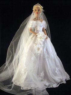 fashion doll bride.