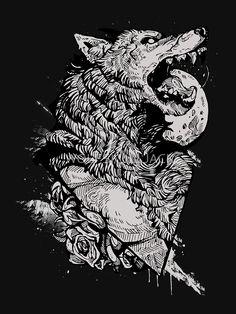 Werewolf Therewolf by WOLFSKULLJACK