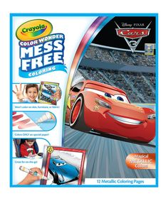 Take a look at this Cars 3 Metallic Coloring Set today!