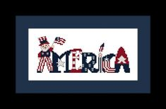 Cross Stitch Pattern America with Uncle Sam by threadsandthings1