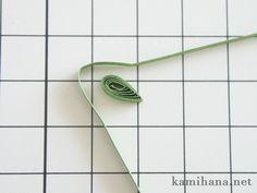 Paper Quilling -- 【ペーパークイリング】紙で作る花菖蒲