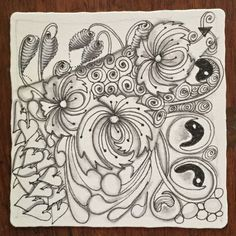 Tangle with Tangleations Zentangles, Tangled, Art Projects, Doodles, Zentangle Patterns, Tutorials, Pictures, Rapunzel, Art Crafts