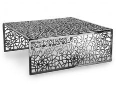 Couchtisch Design Inside Art Aluminium Splendeur