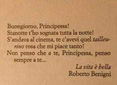 Roberto Benigni #love #amore #buongiorno