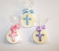 30 Baptism / Christening Cross Chocolate by CarolesPartyCreation, $30.00