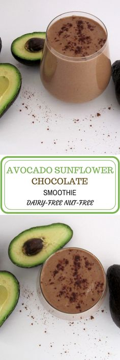 Avocadowith chocolate, it is seriously a perfect pair. Sometimes I crave chocolate in the morning, but I don't want to miss my favorite morning smoothie that has to be avocado. So, here I ga…