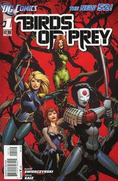 Birds of Prey #1 New 52! // DC Comics