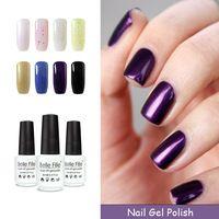 BELLE FILLE vernis semi permanent Manicure Tool Fashion Color UV Nail Gel Top & Base Coat needed Soak-off fingernail Polish