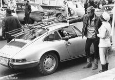 Robert Redford and a 1968 Porsche 911T