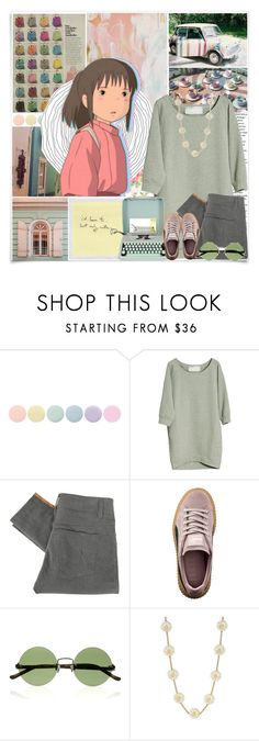"""""""☆ OH LORD, WON'T YOU BUY ME A NIGHT ON THE TOWN? ☆"""" by aseashelly ❤ liked on Polyvore featuring McGuire, Cath Kidston, Deborah Lippmann, Graumann, Hermès, Stolen Girlfriends Club, Puma, The Row, Kate Spade and sweaters"""