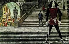 """Savva Brodsky (1923-1982)  Illustrations to the tragedy of Shakespeare's """"Romeo and Juliet"""""""