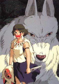 Principessa Mononoke, film di Miyazaki. Lo scontro tra uomo e natura osservato dagli occhi di chi non può cedere alla logica dell'odio, e quindi neppure schierarsi dall'una o dall'altra parte.