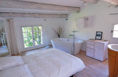 Romantic room at La Ferme Bed and Breakfast in Provence