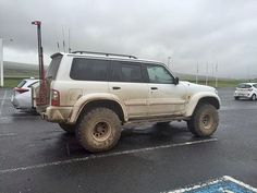The giant hi lift, Nissan Patrol Gr Off Road Truck Accessories, Best 4x4 Cars, Nissan Patrol Y61, Patrol Gr, Trucks, Truck