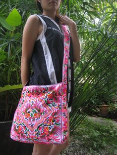 Ethnic Hmong Old Vintage Style Unique Thai by LannaThaiCreations, $19.99 IWANT THIS PURSE SOOOOO MUCH!