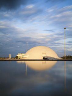 Brazil, Distrito Federal-Brasilia, Brasilia, Cultural Complex of the Republic -Oscar Niemeyer
