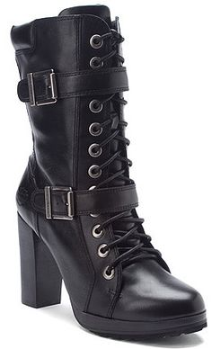 Harley-Davidson Women's Adria Black Boot Style: D85445