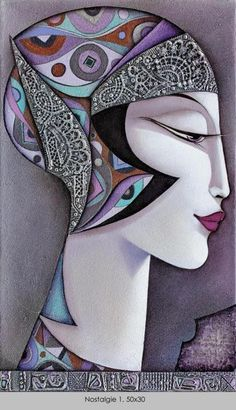 Nostalgie 1 - Painting by Wlad Safronow (b. 1965 in Kharkov, Ukraine) - http://www.wlad-safronow.com/index.php?article_id=14&clang=1&file=nostalgie_1__50x30.jpg&gallery=0