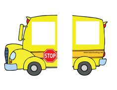 free_School Bus My Name. School Bus Crafts, Name Activities, Circle Time, School Themes, My Themes, Preschool Crafts, Preschool Ideas, Back To School, School Stuff