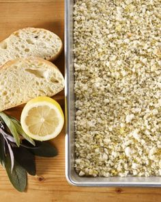 """See the """"Make Breadcrumbs from Leftover Bread"""" in our  galleryThe next time you have leftover bread from a meal, make homemade breadcrumbs -- you'll save a few dollars without skimping on flavor. Tossed with lemon zest, herbs, and Parmesan cheese, these fresh breadcrumbs are perfect for coating chicken, pork, or turkey cutlets, or as a pasta topping."""
