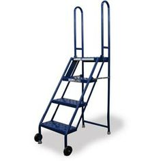 Narrow Aisle Rolling Ladders In Stock Uline Kdj Furn