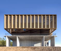 Completed in 2017 in Sarnadas de Ródão, Portugal. Images by Nuno Almendra. The plot, located in Sarnadas de Ródão, Castelo Branco district has an area of about 15 ha, of which 10.5 ha will be planted with vines. It is...