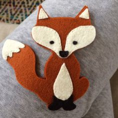 Sewing Animals Patterns Fox Plushie Pattern Fox easy to sew felt PDF pattern Felt fox Felt Animal Patterns, Plushie Patterns, Softie Pattern, Fox Pattern, Stuffed Animal Patterns, Fox Ornaments, Felt Christmas Ornaments, Fuchs Illustration, Fox Crafts