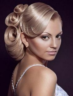 Do you love this look? Where would you wear it?    #Hair #weddinghair