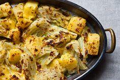 Retete de Post - Mancare de cartofi cu fenicul