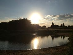 Sunset + lakes Lakes, Celestial, Sunset, Outdoor, Outdoors, Sunsets, Outdoor Games, The Great Outdoors, Ponds