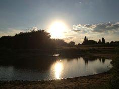 Sunset + lakes