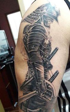 Samurai by:cocaotattoo13