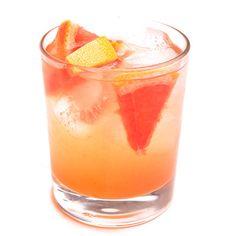 Jillian's-Skinny-Grapefruit-Margarita-150 calories 1.5 oz Tequila 3/4oz grapefruit juice fresh lime squeeze seltzer jalapeño slice