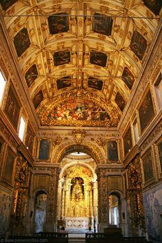 Madre de Deus Church at the Azulejo Museum, Lisbon, Portugal