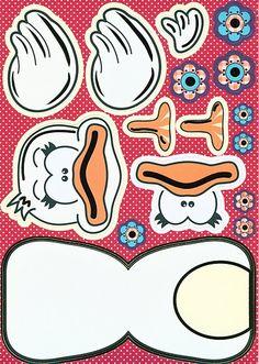 Eend knutselen met kleuters / duck preschool craft / Danny