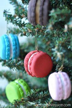 french macaron ornaments 2 | @Mindy CREATIVE JUICE