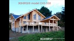 Log houses and log homes from Finland: IKIHIRSI® - When the home is your lifestyle.