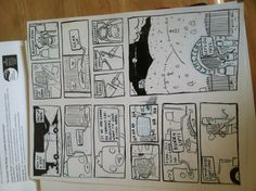First four pages of my next mini comic.