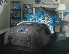 NFL II Carolina Panthers Bedding