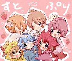 埋め込み かわいいアニメの少年, 少年アニメキャラ, かわいいチビ, あかつき, アニメ