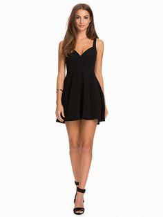 Sweetheart Neckline Skater Dress