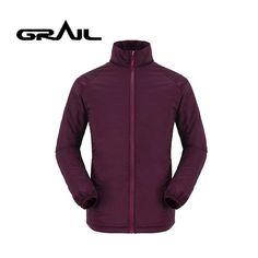 8dc0590bb2c GRAIL Brand 3M Thinsulate Outdoor Jacket Autumn Winter Men s Warm Mndarin  Collar Zipper Softshell Waterproof Windbreaker