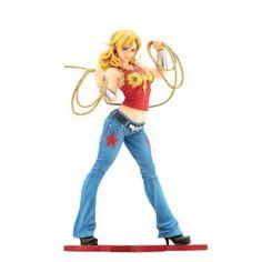 46 cm-NEUF /& neuf dans sa boîte DC Comics Wonder Woman Figurine avec accessoires 1//4 Scale NECA