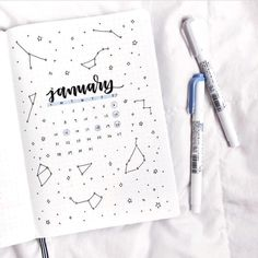 "3,834 Likes, 13 Comments - bullet journal inspiration. (@bullet.journals) on Instagram: ""How is your January going so far? this lovely image is by @letteringwithleni // Use the tag…"""
