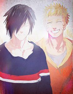 Uchiha Sasuke and Uzumaki Naruto