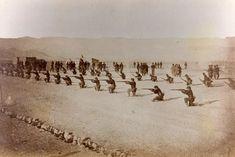 Regimiento Esmeralda Linea de guerrilla
