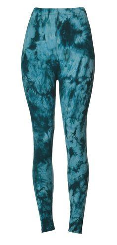 Tie Dye Leggings Women/'s Pants Soft Brushed Suede Blue Purple Abstract Art XS S M L XL 2XL
