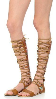 Free People Bellflower Tall Sandals